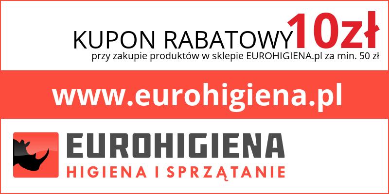 kupon eurohigiena za odkurzacz Numatic HET160